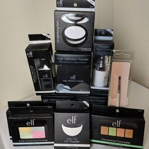 ELF Lot of 11 Pieces Concealer Powder Mist Primer